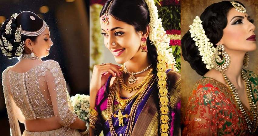 Gajra Hairstyles For Your Wedding: What Is Your Favorite Elan?