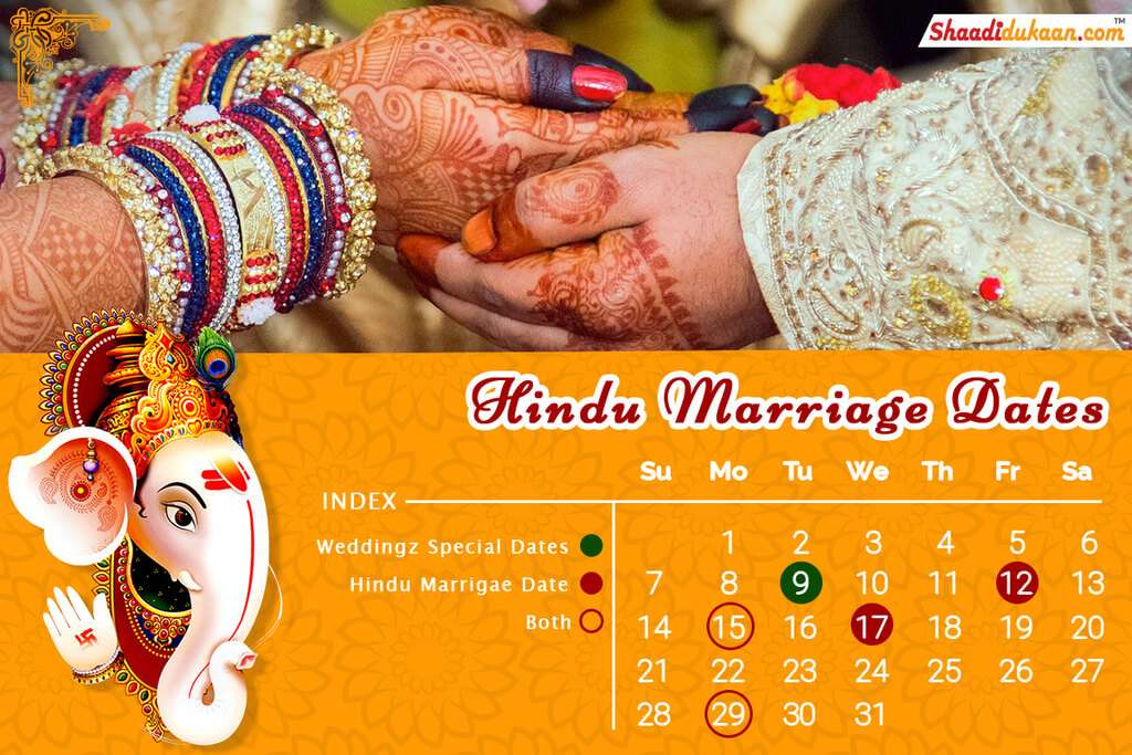 Auspicious Wedding Dates In 2019, Shubh Vivah Muhurat 2019 - Hindu