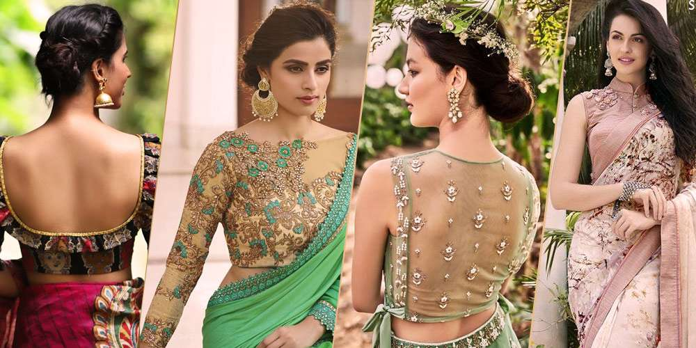 efa42b7f3a Best Blouse Designs 2019 For Indian Wedding Seasons: Trendy Designer Blouses