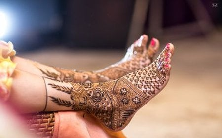 Evergreen Mehndi Designs For Legs - You Can't Take Your Eyes Off