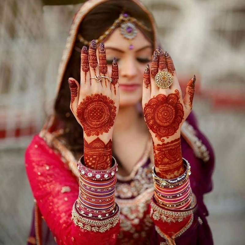 Beautiful Mehndi Designs For Going To Be Brides: Best Mehandi Design Photos