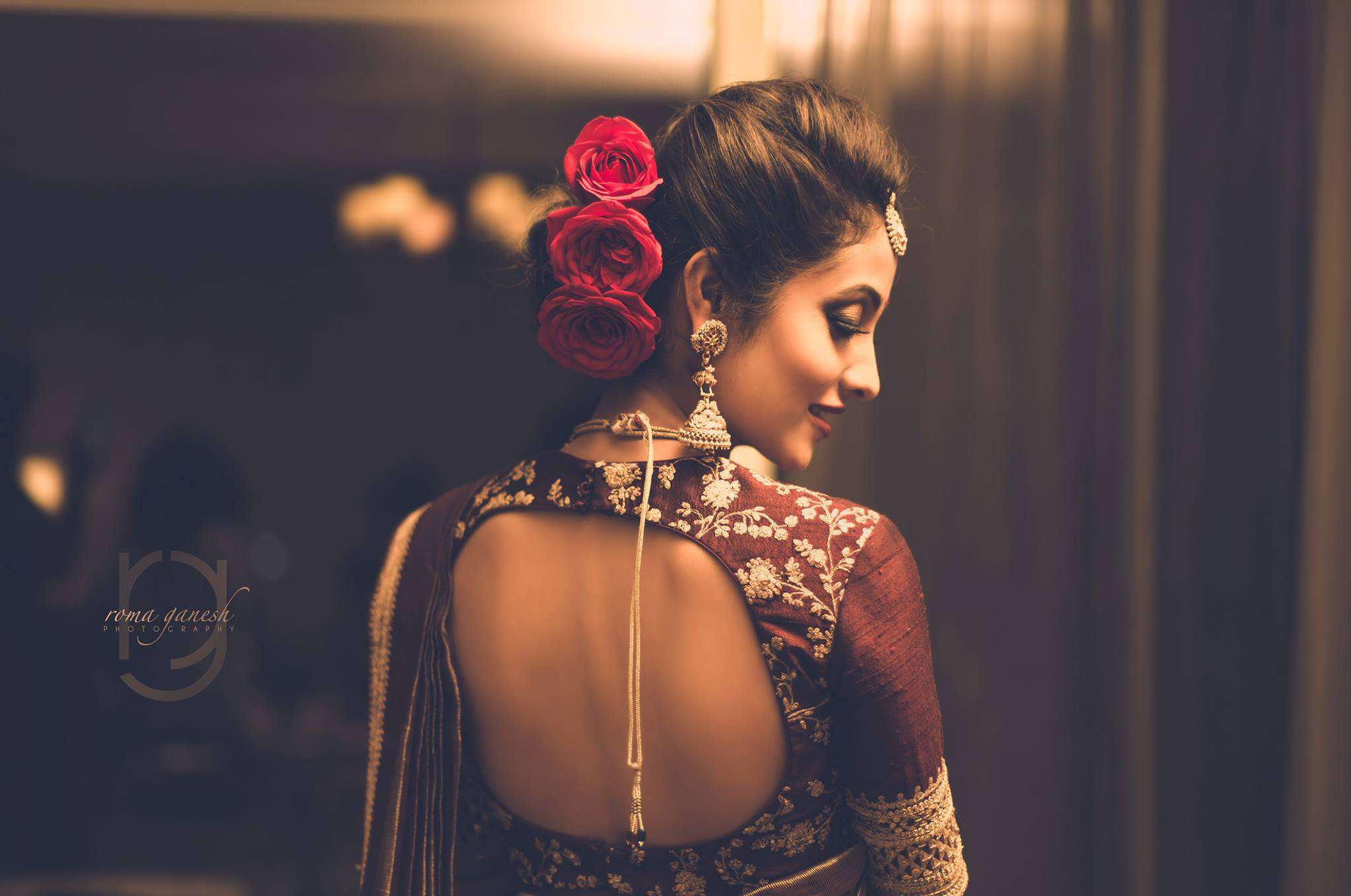 New Best Back Neck Blouse Designs That All Brides Want to Wear