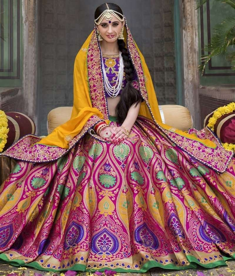 Your Favorite Banarasi Lehengas Under 80k: Not So Much Costly Brides