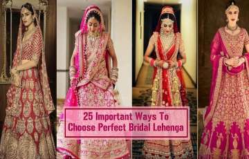 25 Important Ways To Choose Perfect Bridal Lehenga