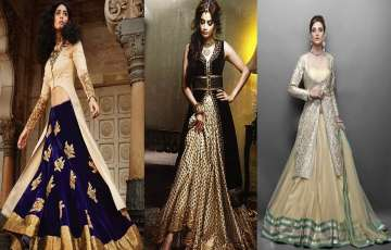 How to make lehengas Out Of Your Vintage Sarees?
