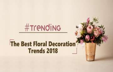 Trending - The Floral Decoration Trend in This Wedding Season