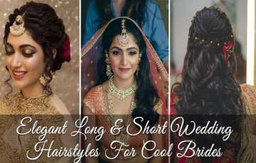 Elegant Long & Short Wedding Hairstyles For Cool Brides