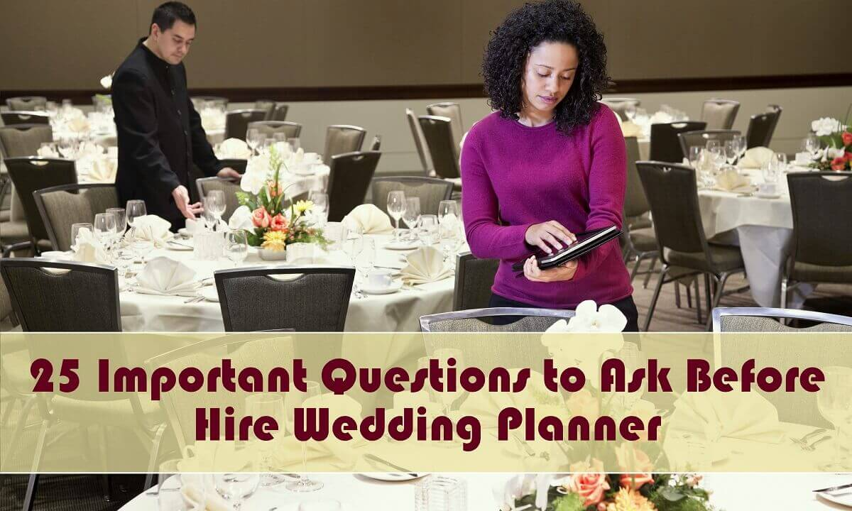 25 Important Questions to Ask Before Hire Wedding Planner