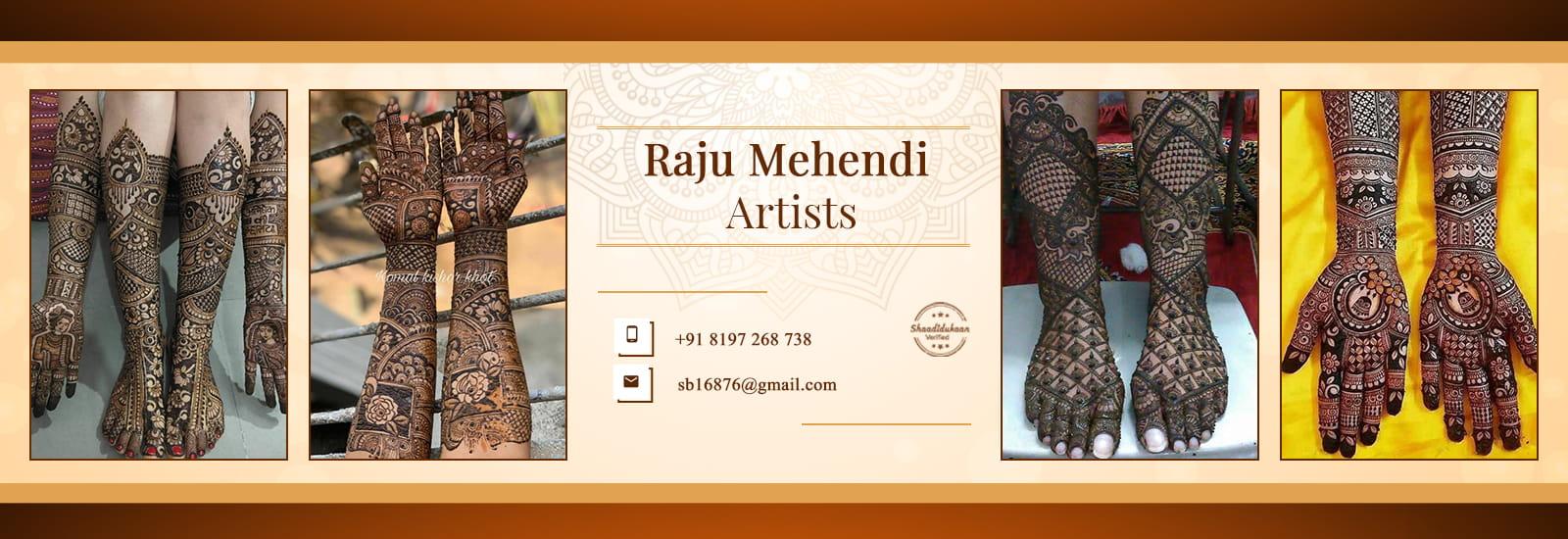 raju-mehendi-artist