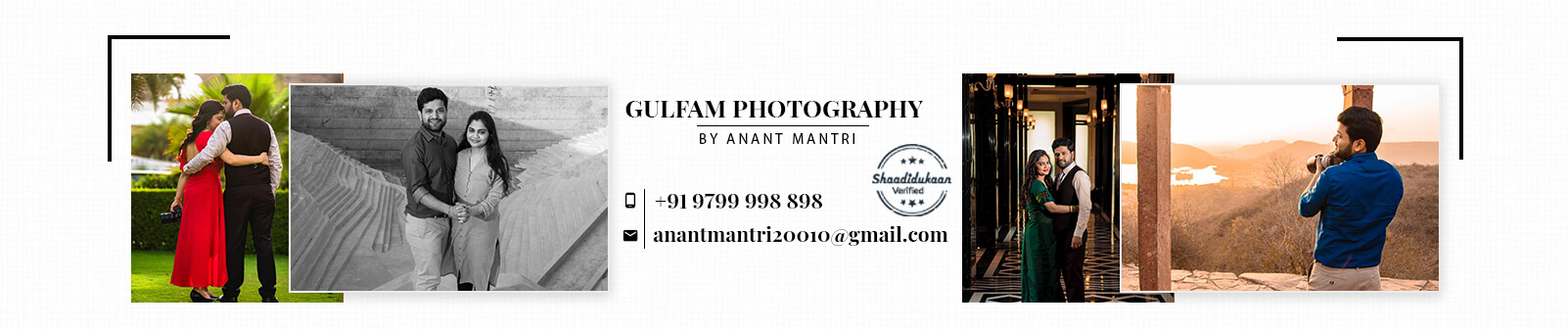 Gulfam Photography by Anant Mantri