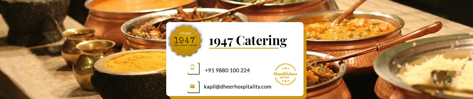 1947 Catering