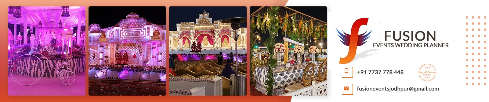 Fusion Events Wedding Planner