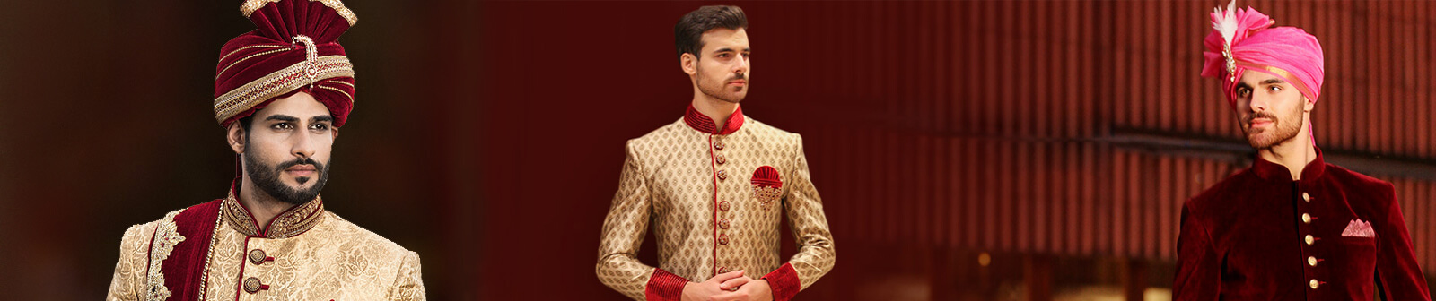 Groom Wedding Wear in Delhi