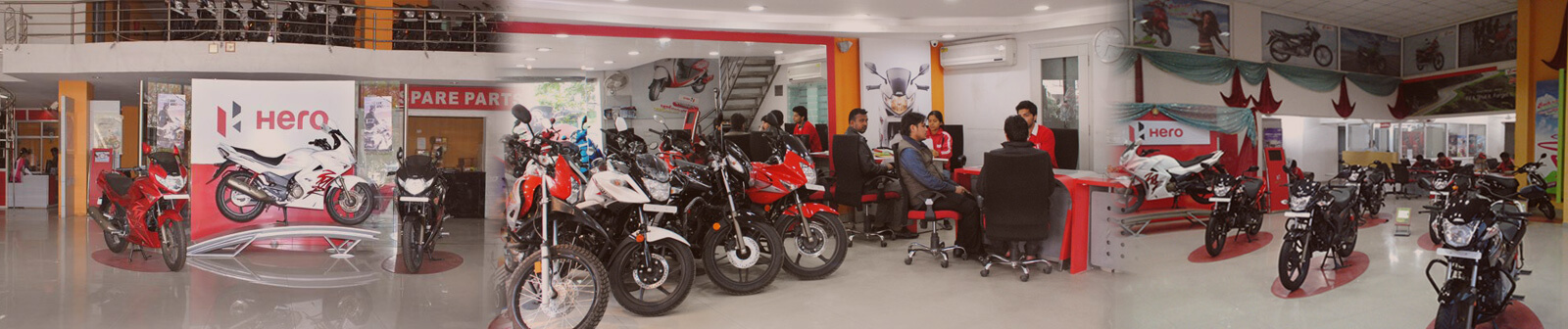 Two Wheeler Showroom
