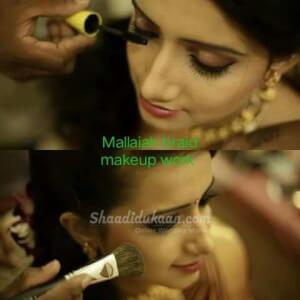 Professional Bridal  Makeup Artist MALLAIAH
