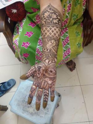 Saami Bridal Mehendi Arts