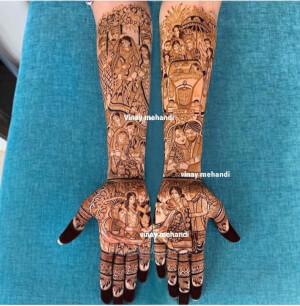 Vinay Mehandi Artistry
