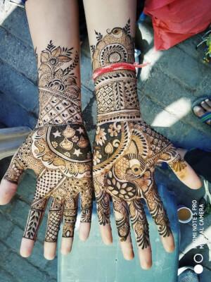 Anil Mehandi Art