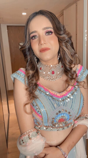 Shivali Arora Makeup Stories