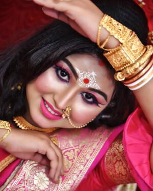 Bridal Makeup Artist Sumana Dey Chatterjee