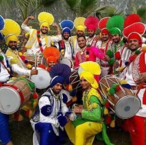 Punjabi Rajasthani Dhol Player