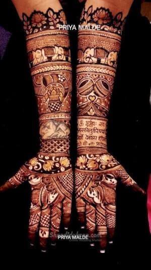 Priya Bridal Mehndi Artist