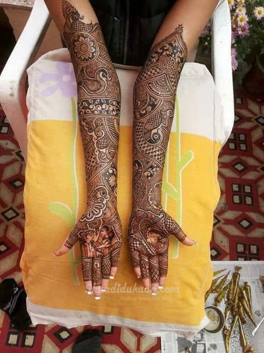 Jai & Veer Mehandi Art