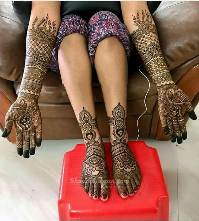 Vinod Mehendi Art