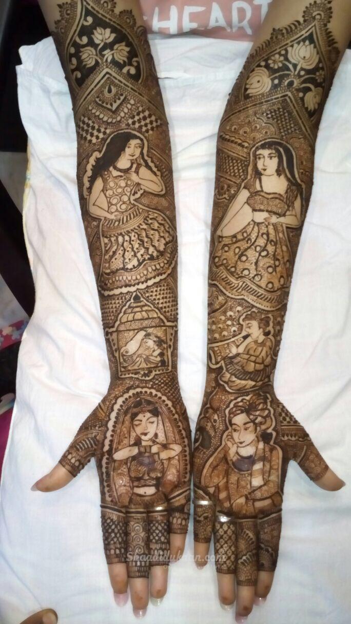 Manoj Gupta Mehandi Art