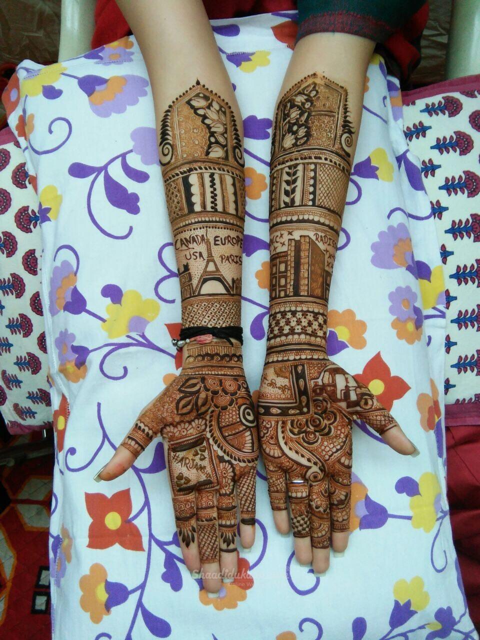 Jaipuri Mehandi Art