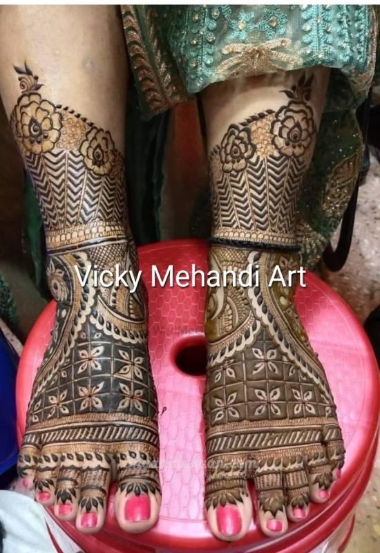 Vicky Mehandi Art