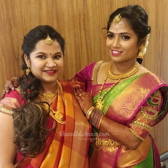 Makeovers By Amitha and Lekha