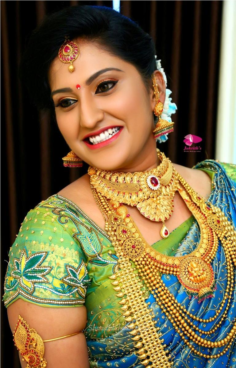 Jukrith Best Professional Bridal Makeup Artist in Chennai