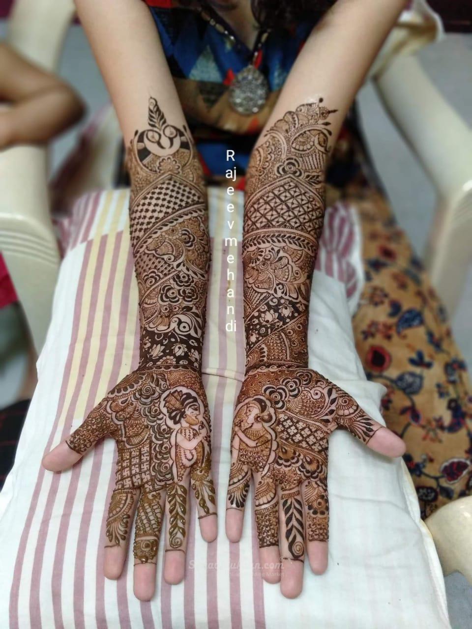 Rajeev Mehandi Artist