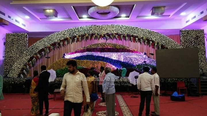 Banshankhari flower decorator