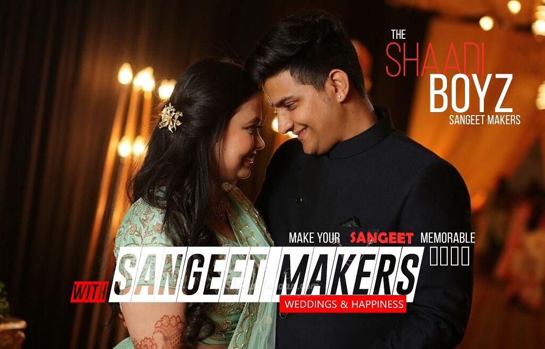 The shaadi boyz sangeet makers