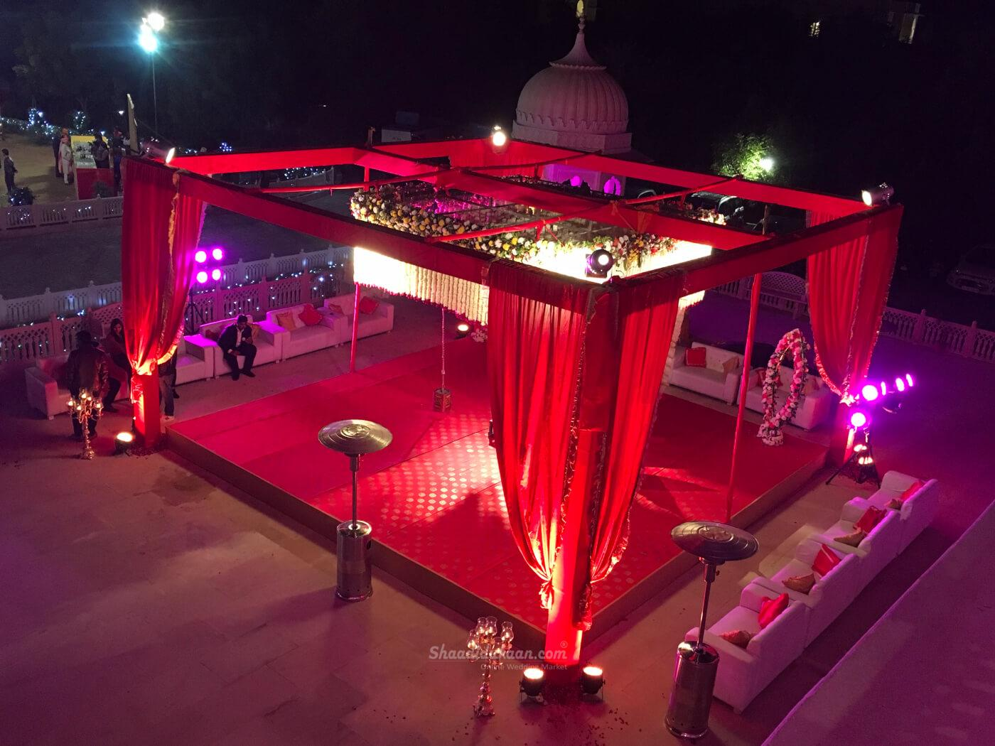 Rivaansh the Rental House and Tent Decoration