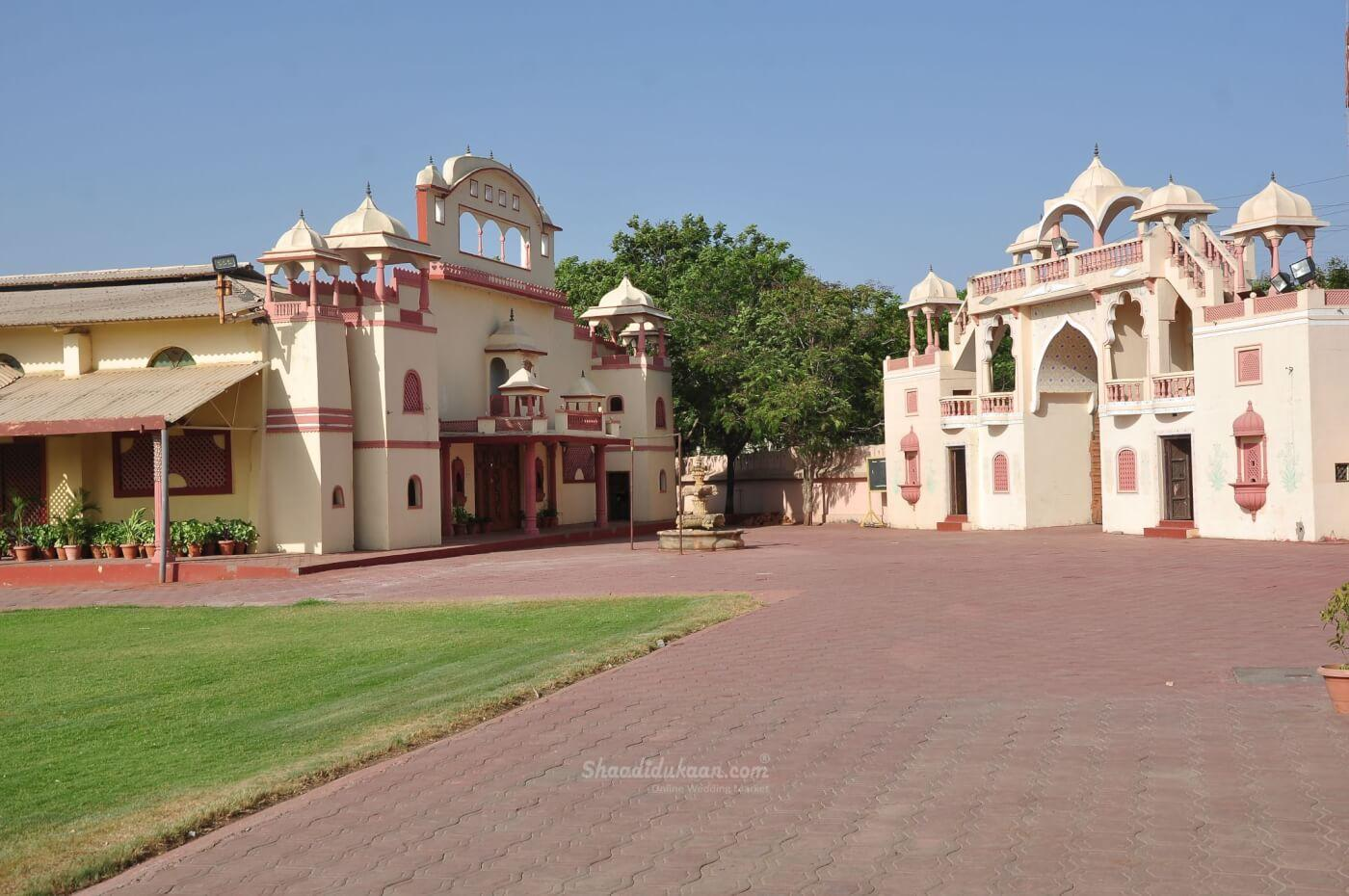 Nakhrali Dhani Rajwadi Marriage Garden