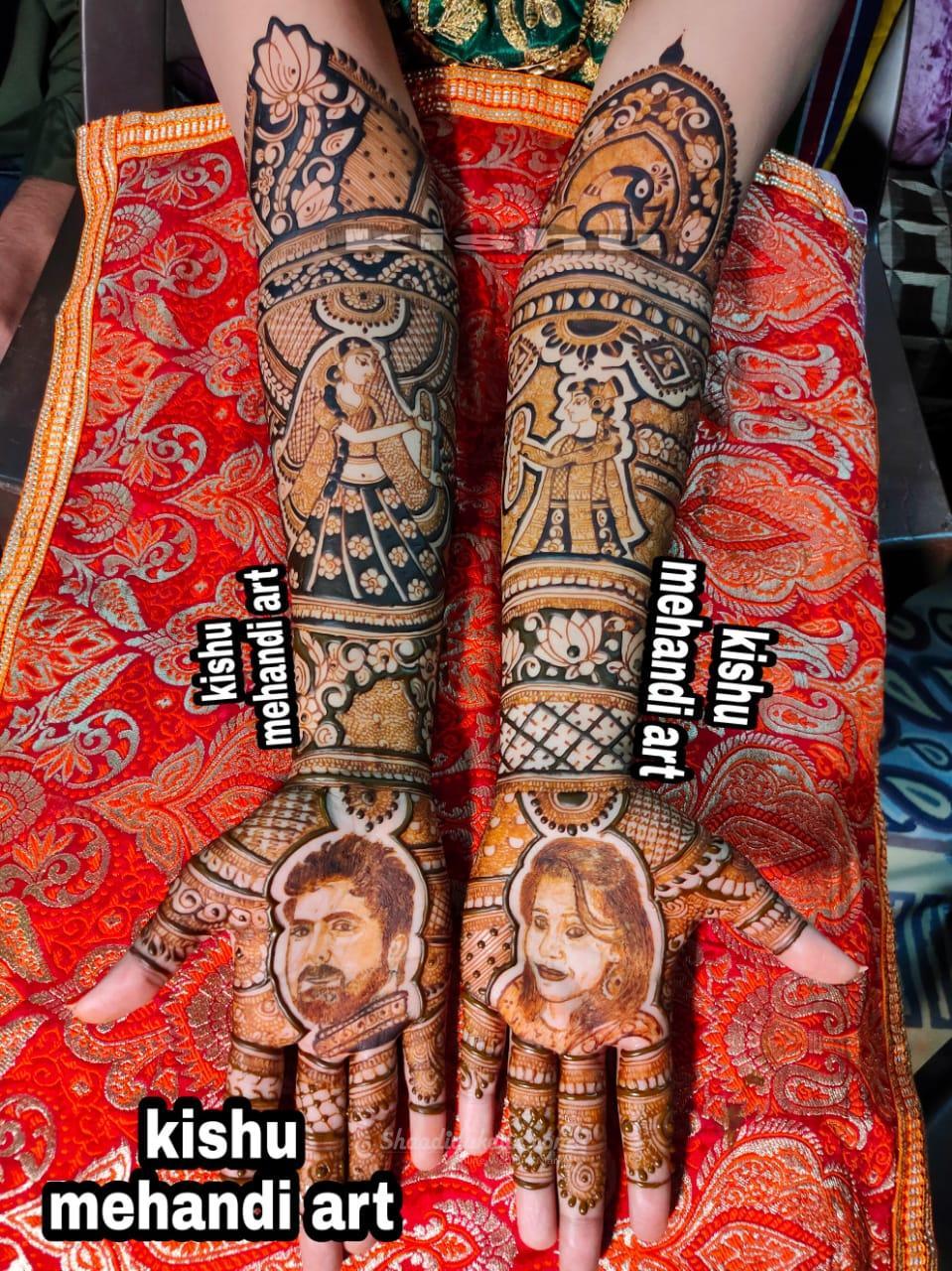 Kishu Mehandi Art