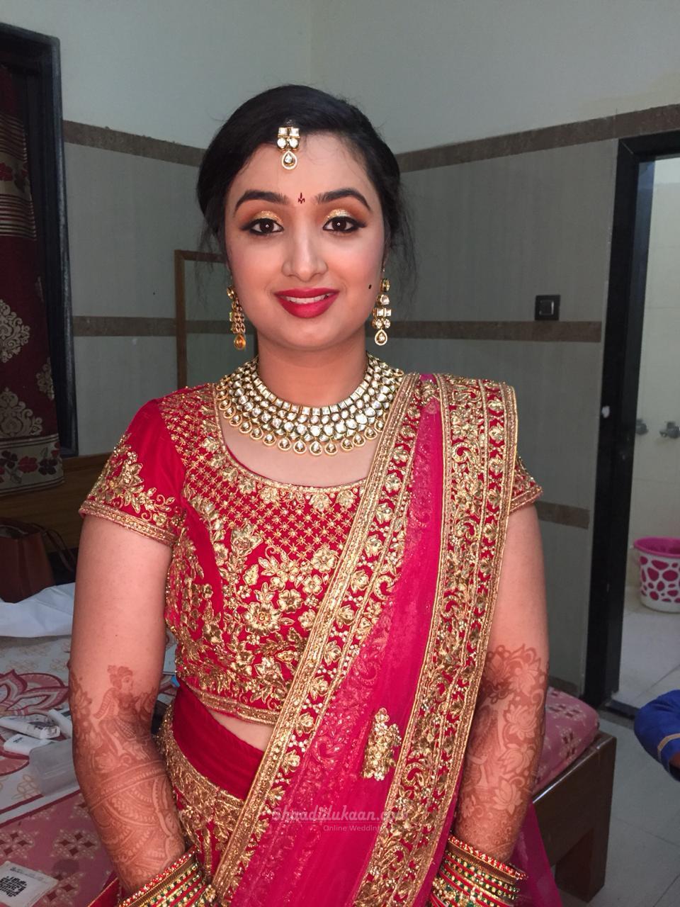 Ashifa Shaik ..makeup Artist