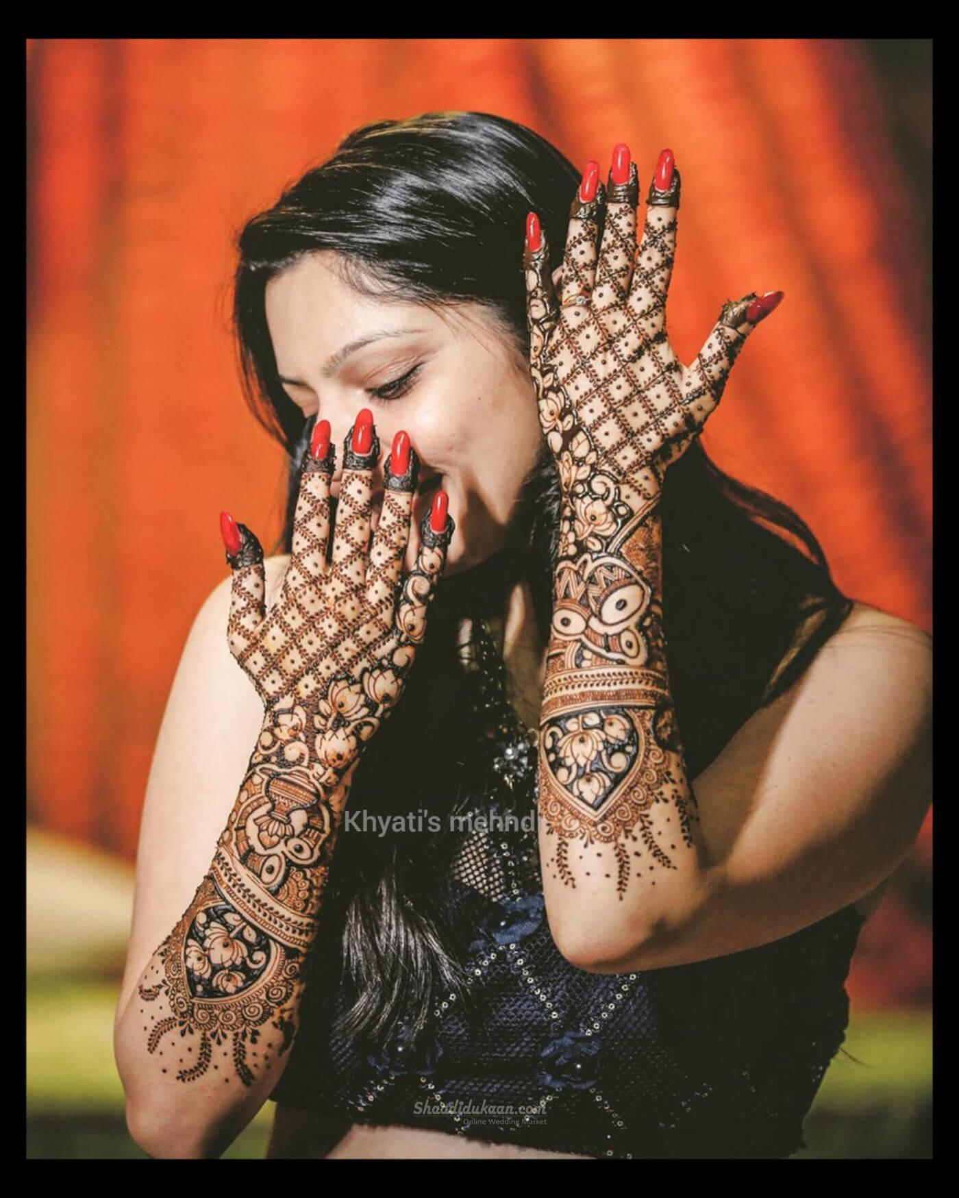Khyati's Bridal Mehandi