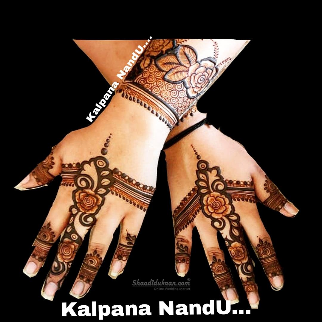 Mehendi Artist Kalpana Nandu