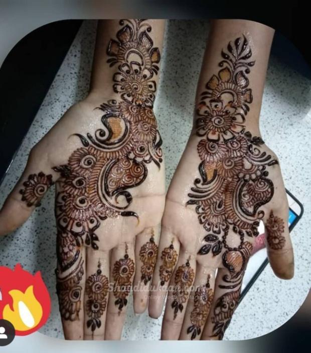 Akash Mehndi Art