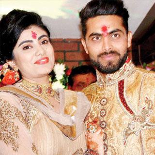 Indian Crickter Ravindra Jadeja wedding