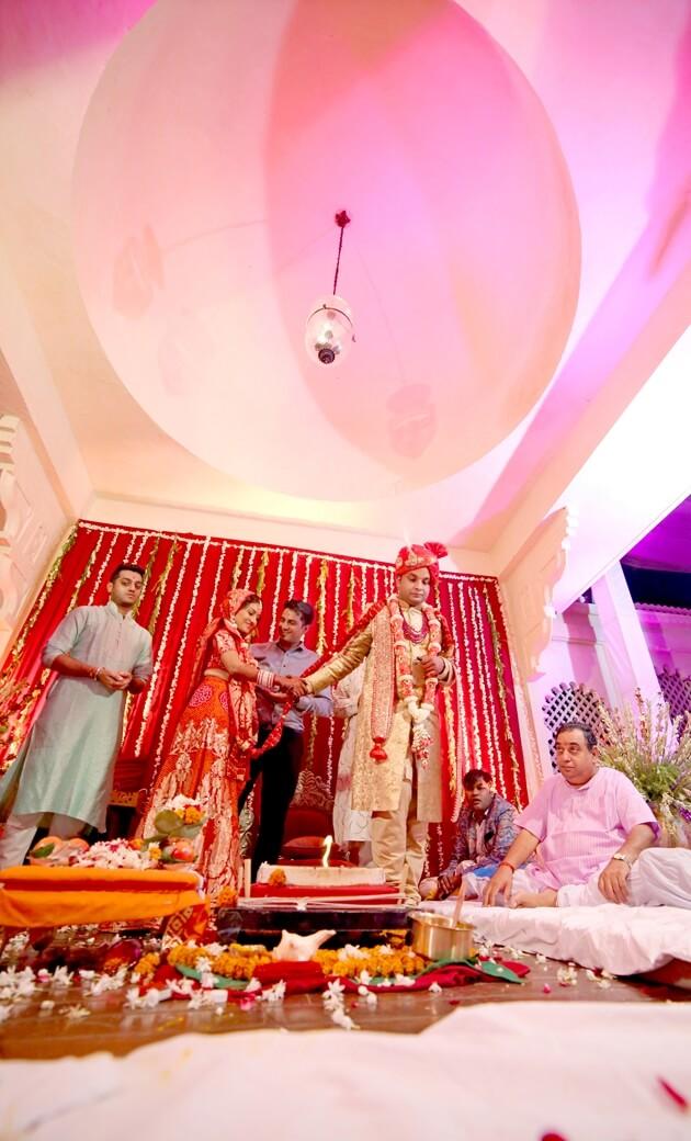 Prateek Weds Etisha by Kala Colur Lab