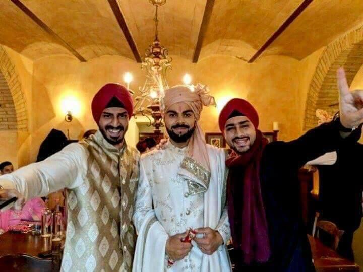 Indian Skipper Virat Kohli weds Bollywood Diva Anushka Sharma