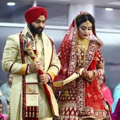Harvinder Weds Jasleen, Delhi