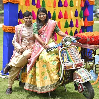 Nikunj Weds Rushika, Udaipur