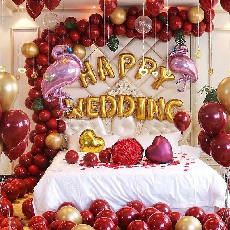 Scintillating Wedding Room Decoration Ideas For Your First