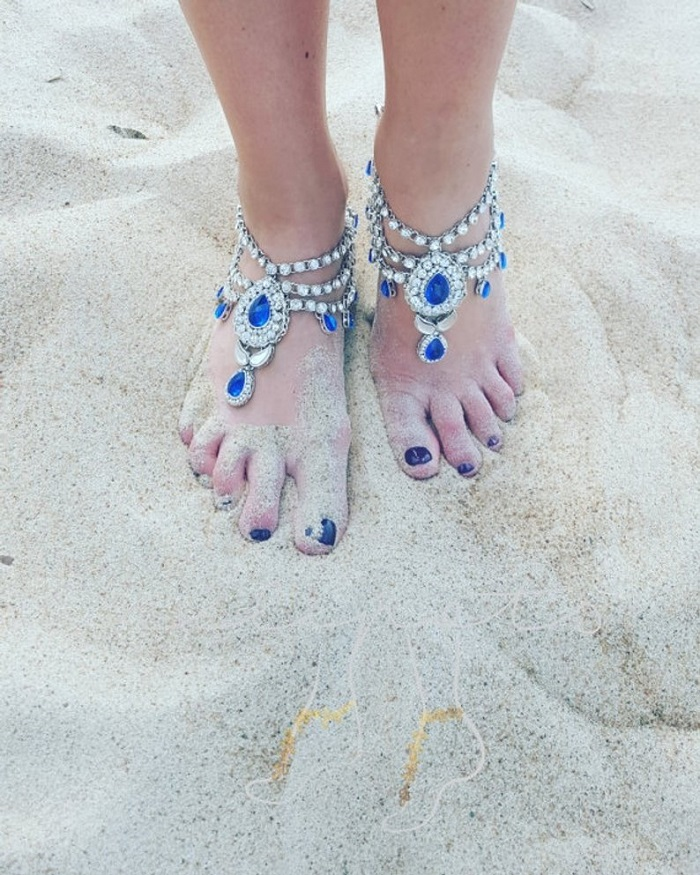 beautiful anklet designs